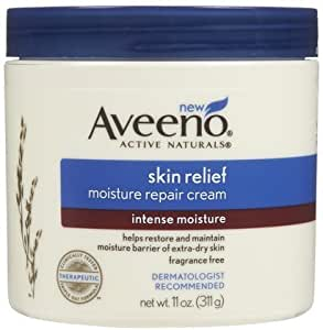 Amazon.com : Aveeno Skin Relief Moisturizing Cream-11 oz (Quantity of