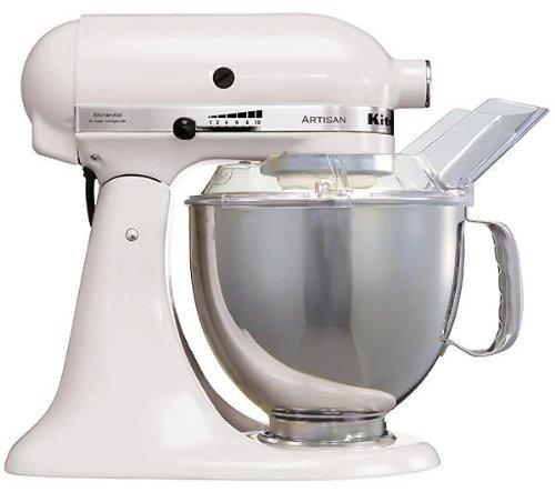 Kitchenaid 5KSM150PSEWH, Robot da cucina, colore: Bianco [Importato da Germania]
