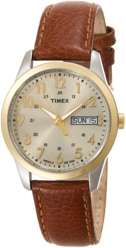 Timex Men&#8217;s T2N105 Casual Dress Strap Watch