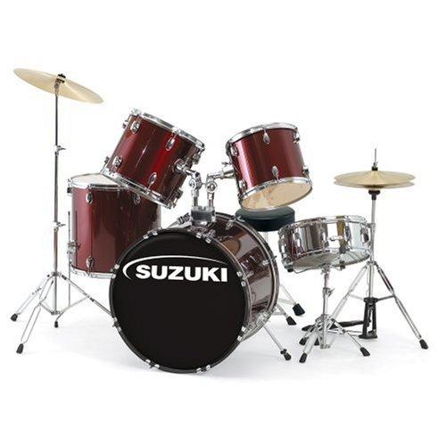 buy cheap suzuki sdk 5p 5 piece performance drum set on sale drum sets. Black Bedroom Furniture Sets. Home Design Ideas