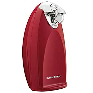 Hamilton Beach Ensemble Tall Can Opener, Red
