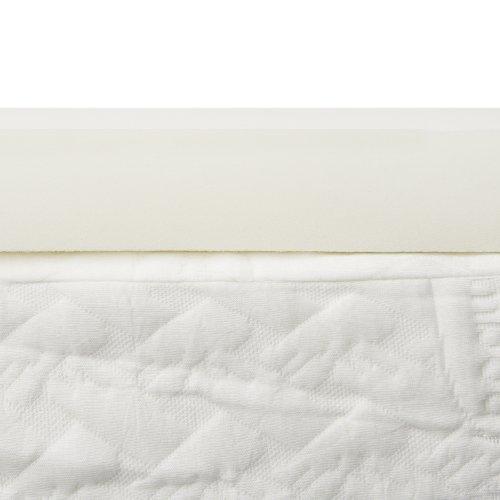 Lucid 2 Inch Foam Mattress Topper Queen Size 3-Year Warranty