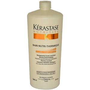 Kerastase Nutritive Bain Nutri-Thermique Shampoo Unisex Shampoo by Kerastase, 34 Ounce