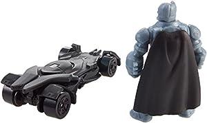Hot Wheels Batman v Superman: Dawn of Justice Armored Batman Mini Figure & Batmobile at Gotham City Store