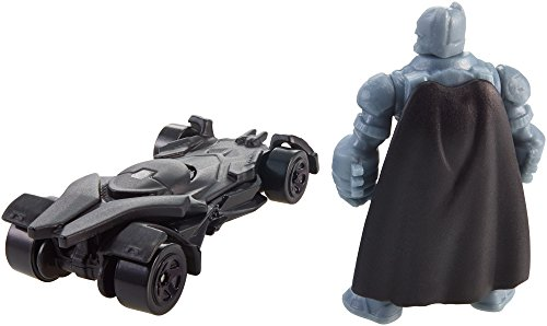 Hot Wheels Batman v Superman: Dawn of Justice Armored Batman Mini Figure & Batmobile at Gotham City Store