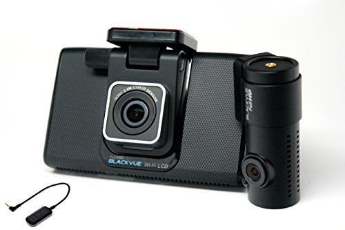 "Blackvue DR750LW-2CH Full HD+Full HD 16GB Wi-Fi 4""LCD Touchscreen, Car Black Box/Car DVR Recorder - 16GB + External GPS (Comes with POWER CABLE + CIGAR POWER CABLE)"