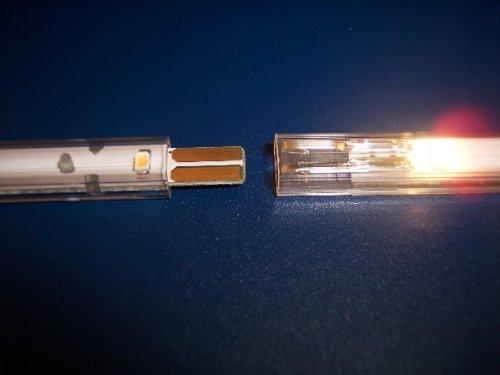 LED Leisten 12 flammig, blau