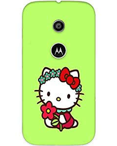 3d Motorola Moto E Back Cover Designer Hard Case Printed Mobile Cover