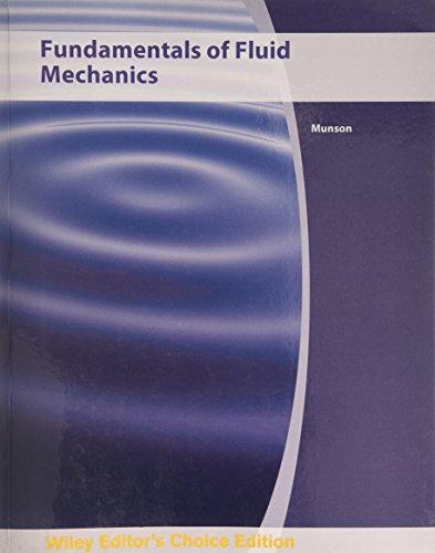 Fundamentals of Fluid Mechanics