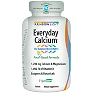 Rainbow Light Everyday Calcium - 240 Tablets - pack of - 1