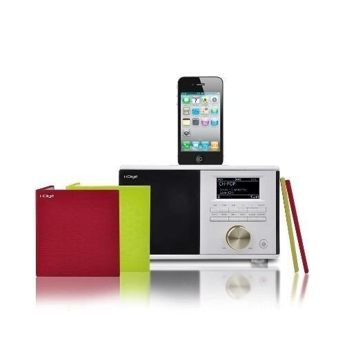 HDigit Dressy Compact Home HiFi System iPod (WiFi, DAB+, FM) mit Dockingstation für Apple iPod/iPhone