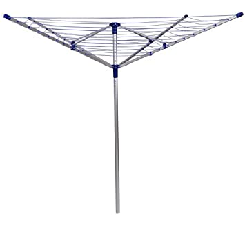 Outsunny Outdoor Deluxe Rotary Clothesline Clothes Dryer - 10 Lines - 164 ft Line Length at Sears.com