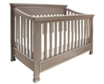 Hot Sale Million Dollar Baby Classic Foothill 4-in1 Convertible Crib With Toddler Rail, Weathered Grey