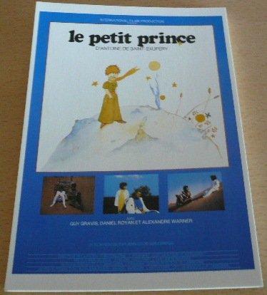 Film-Jean-Louis-GUILLERMOU-El-Principito-10-x-15-cm-diseo-de-postal