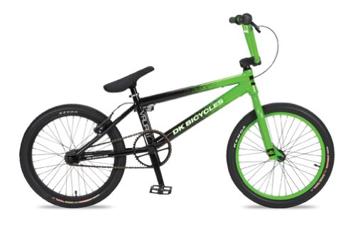 Dk Valiant Bmx Bike Fade (Green/Black, 20-Inch)