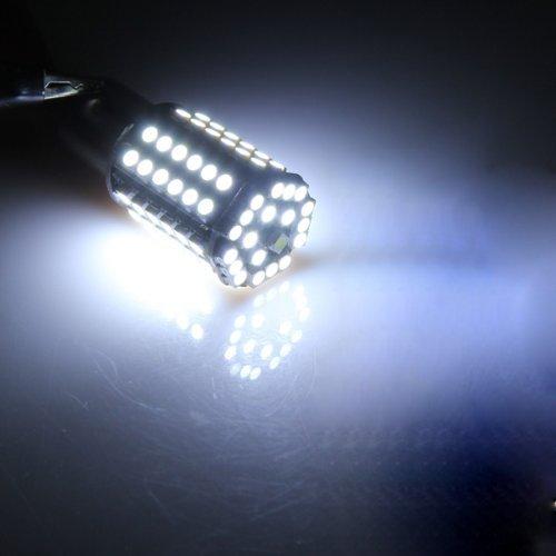 Sodial r 2x4 5w attacco 1156 ba15s lampadine 80 led 3528 for Lampadine led per auto