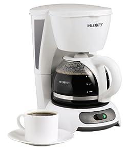 Coffee Maker Java Code : Amazon.com: Mr. Coffee TF4 4-Cup Switch Coffeemaker, White: Drip Coffeemakers: Kitchen & Dining