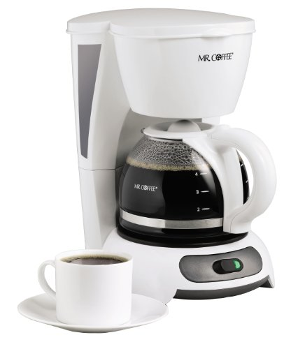Mr. Coffee TF4 4-Cup Switch Coffeemaker, White (Cup Coffee Cup compare prices)