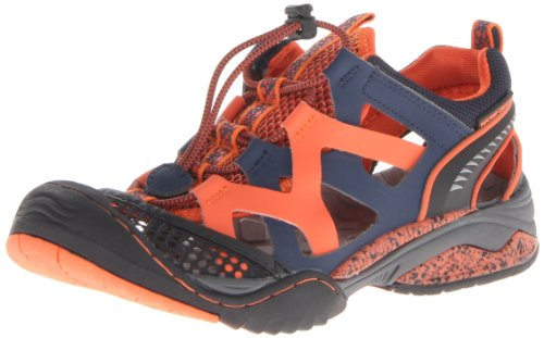 Jambu Squamata Fisherman Sandal (Toddler/Little Kid/Big Kid),Navy,13 M Us Little Kid front-216340