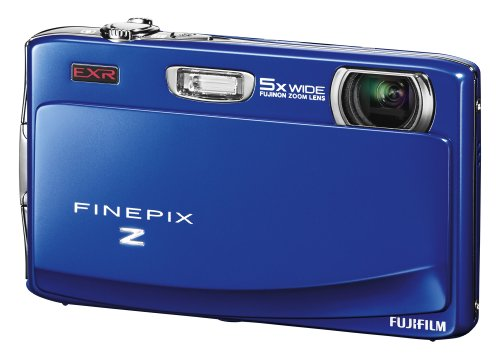 Fujifilm FinePix Z900EXR Digital Still Camera - Blue (16MP, 5x Optical Zoom) 3.5 inch LCD Touch Screen