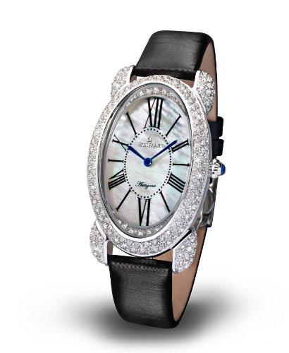 Kronsegler Antigone Crystal Watch steel-white