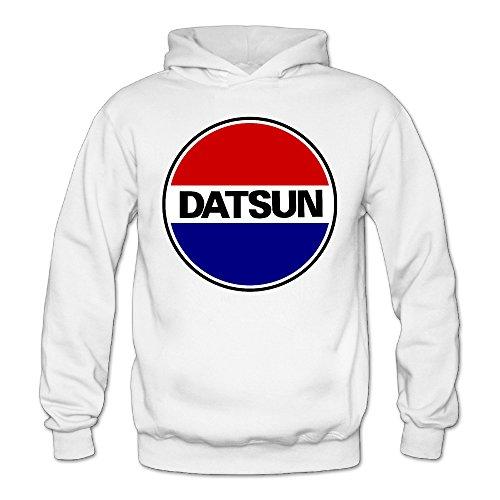 Dee Joes Custom Datsun Logo Women's Hooded Sweatshirt Fall/Winter (Datsun Hoodie compare prices)
