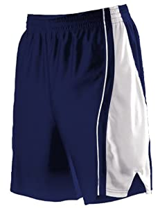 Buy Alleson 547PW Women s Dazzle Basketball Shorts NA WH - NAVY WHITE WS