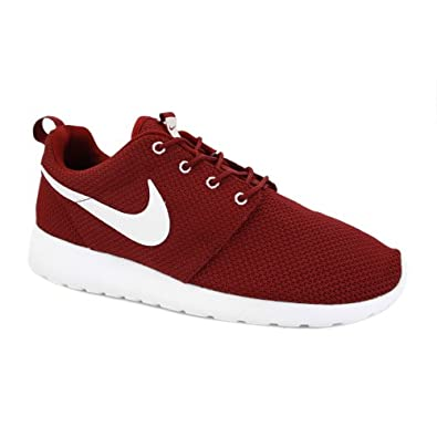 mens burgundy roshe runs