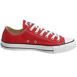 Converse Boys\' Youths Chuck Taylor All Star Ox Red - 2.5 YTH