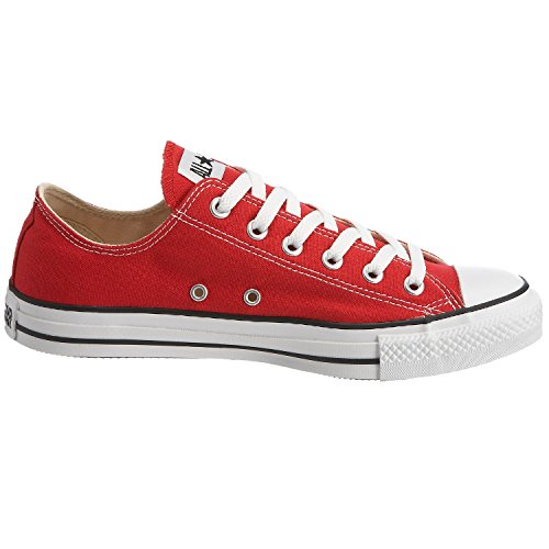 Converse Boys' Youths Chuck Taylor All Star Ox Red - 3 YTH