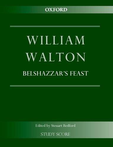 belshazzar s feast study score william walton edition pdf by