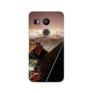 TAZindia Designer Printed Hard Back Case Mobile Cover For LG Nexus 5X