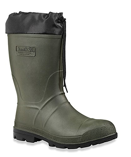 Kamik Men's Hunter Insulated Winter Boot, Khaki/Black Sole, 10 M US (Hunting Boots For Men Insulated compare prices)