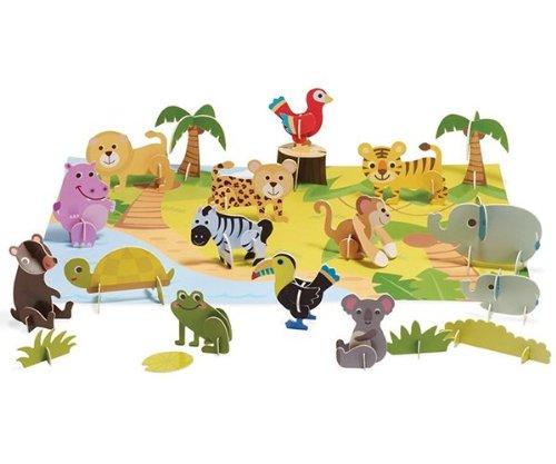 Imagine I Can Jungle Fun Minis Play Set - 1