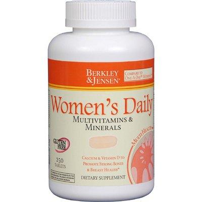Berkley & Jensen Women'S Multivitamins And Minerals Supplement Tablets - 250 Count