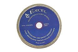 Excel Diamond Coated Glass cut Off Wheel - 3