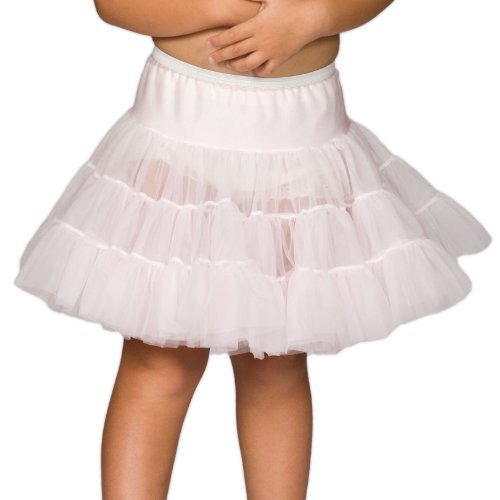 I.C. Collections Baby Girls Pink Bouffant Half Slip Petticoat
