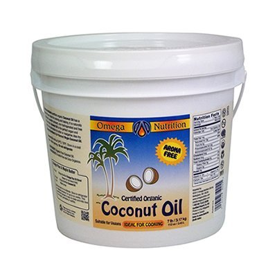 Omega Nutrition - Certified Organic Coconut Oil 112 Oz (Aroma Free Coconut Oil compare prices)