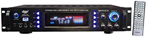 Pyle-Pro P3201ATU 3000 Watts Hybrid Pre Amplifier with AM/FM Tuner/USB from Pyle