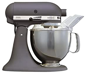 kitchenaid artisan ksm150bgr stand mixer grey kitchen