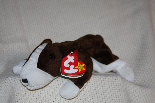 BRUNO the Dog - Ty Beanie Babies - 1