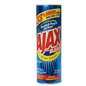 Amazon.com: Ajax with Bleach Powder Cleanser - 28 oz (2 pack): Health
