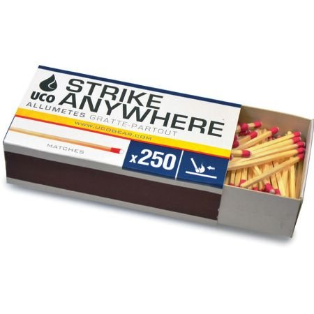 Best Price UCO STRIKE ANYWHERE KITCHEN SIZE MATCHES - 250 CT.