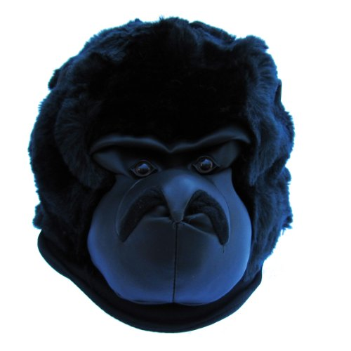 Gorilla Ape Kids Adults Costume Fur Hat