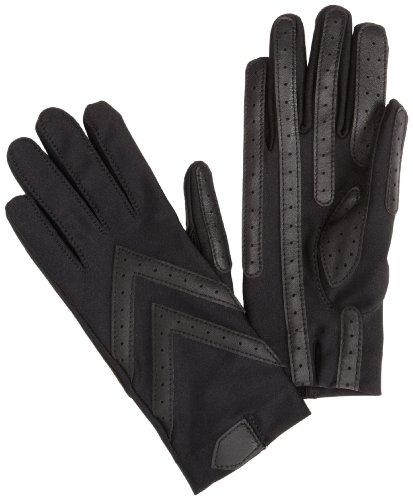 isotoner-womens-spandex-shortie-unlined-gloveblackone-size