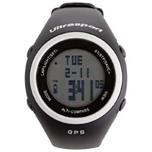 Ultrasport NavRun 600 GPS Heart Rate Monitor with 2.4 GHz Chest Strap