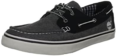 Timberland Men's Newmarket Ox Boat Shoe,Grey,7 M US