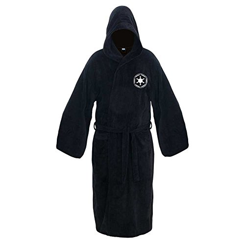 Star Wars Darth Vader Hooded Bath Unisex Robe - Size Large