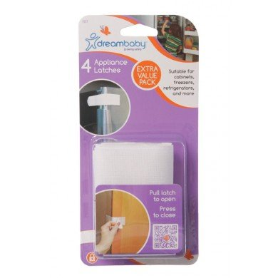 Dream Baby Appliance Latch White - 8 Pack