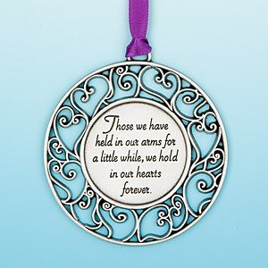 """Amazon.com: Christmas Memorial Ornament """"Those We Have Held in Our"""